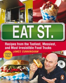 James Cunningham trucked through Vancouver to promote the Eat St. Cookbook - what fun!