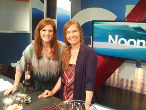 Barbara Allan talks about diabetes prevention with Global's Lynn Collier.