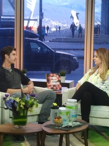 Vega creator and former professional Ironman triathlete Brendan Brazier chats about his Thrive Energy Cookbook with Fiona Forbes.