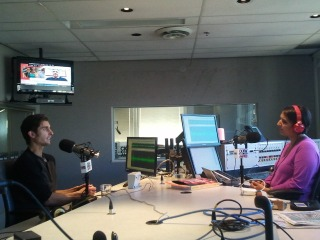 Brendan Brazier chats about Thrive Energy Cookbook with CKNW's Simi Sara