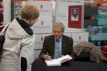 Working with Robert Bateman again, this time for his memoir LifeSketches