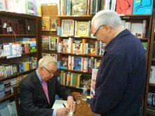 We popped over to Victoria with former prime minister The Right Honourable Joe Clark to sign books at the wonderful Munro's Books.