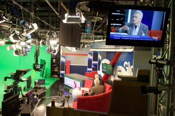 John Irving discusses Avenue of Mysteries with Global Television's Steve Darling.