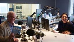 Rick Antonson with CKNW's Simi Sara.